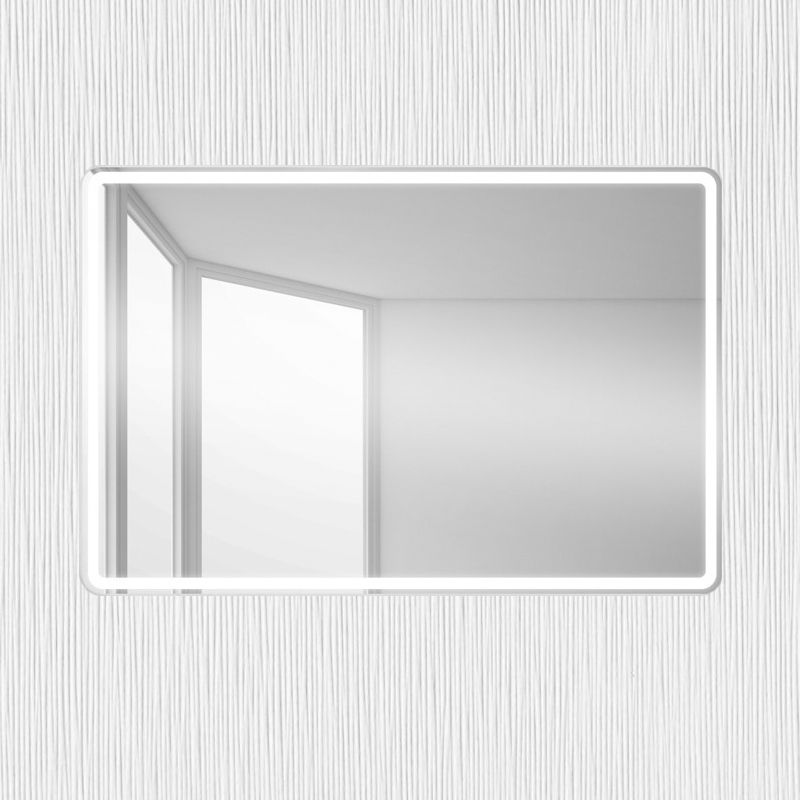 Зеркало BelBagno SPC-MAR-500-600-LED-BTN, фото